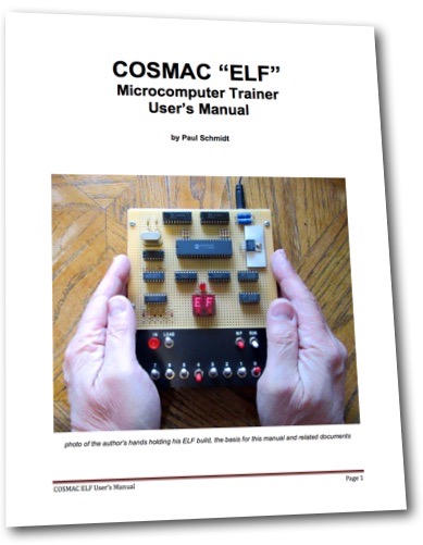 COSMAC ELF Users Manual