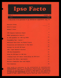 Ipso Facto - Issue 31-thumb